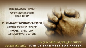 PrayerSchedule INTERCESSORY TV AD